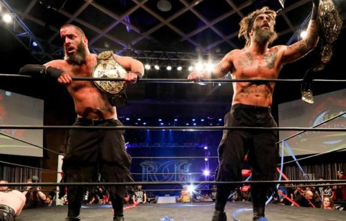 The Briscoes re-sign with Ring of Honor