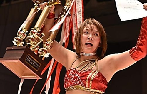 Japanese star might be coming to WWE
