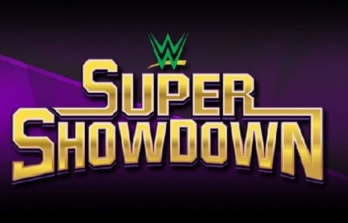 Matches made official for WWE Super Showdown