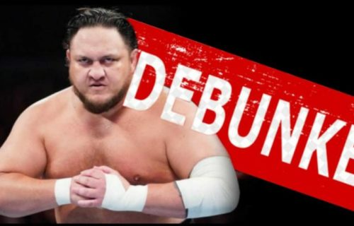 Reports about Samoa Joe's suspension debunked