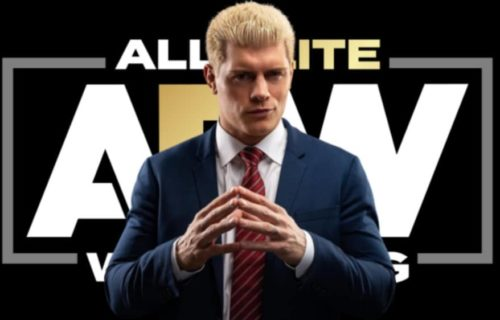 Cody Rhodes reveals AEW has plans to introduce a new title in 2020