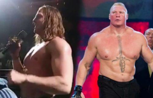 Matt Riddle was heartbroken by Brock Lesnar encounter