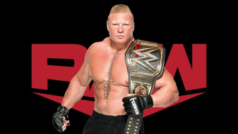 Brock Lesnar-RAW