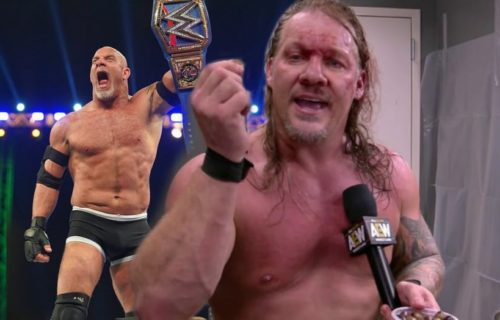 Chris Jericho sends congratulations to Goldberg on Universal title victory