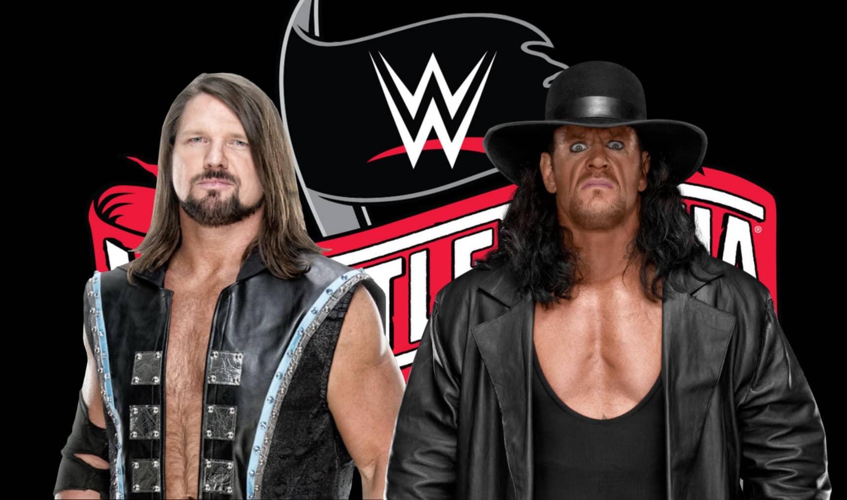 Image result for undertaker vs. aj styles