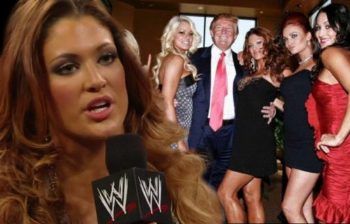 """Former Divas Champion Eve Torres says Donald Trump """"forcefully grabbed"""" her"""