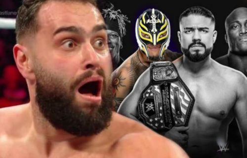 Rusev Possibly Replaced on WWE Super ShowDown Card by Rey Mysterio