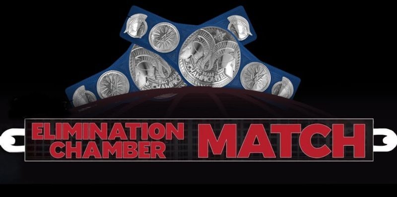 SmackDown Tag Team Titles-Elimination Chamber