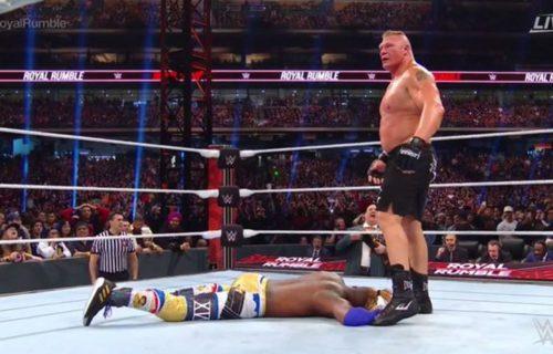 Matt Hardy on Brock Lesnar's Royal Rumble performance
