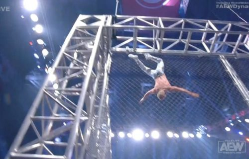 Cody Rhodes injured during AEW cage match