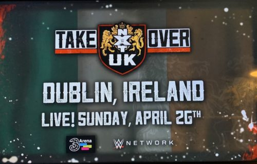 WWE NXT UK TakeOver: Dublin has been postponed