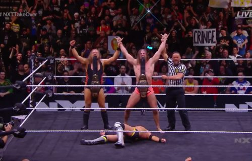 Broserweights become Tag Team Champions at NXT TakeOver: Portland