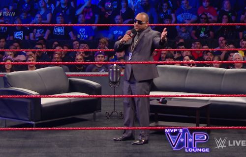 MVP returns to RAW in special talk show segment