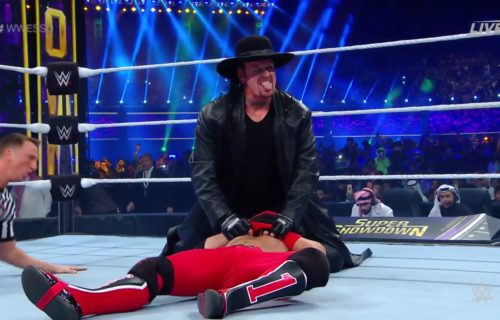 The Undertaker returns to WWE, defeats AJ Styles and wins Tuwaiq Trophy Gauntlet Match