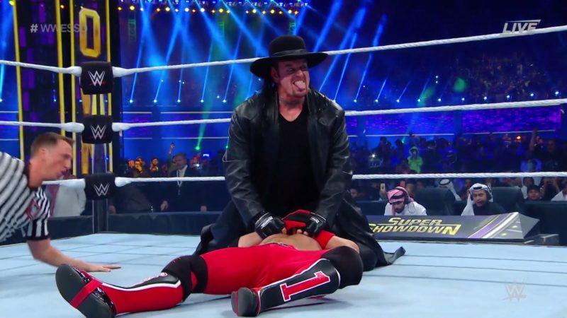 The Undertaker-AJ Styles