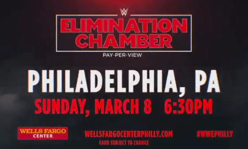 SPOILER: Participants for Men's Elimination Chamber match possibly revealed