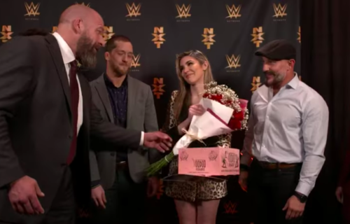 Cathy Kelley receives amazing farewell gifts from Triple H and Undisputed Era
