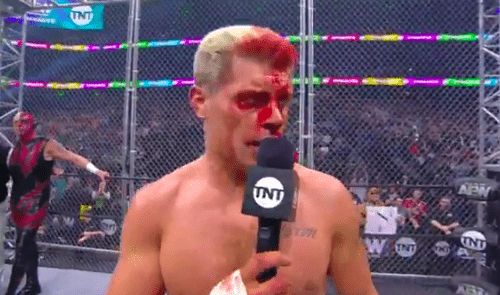 Why TNT might have approved blood on AEW Dynamite
