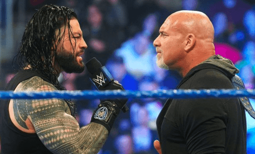 WWE tried to separately tape Roman Reigns vs Goldberg