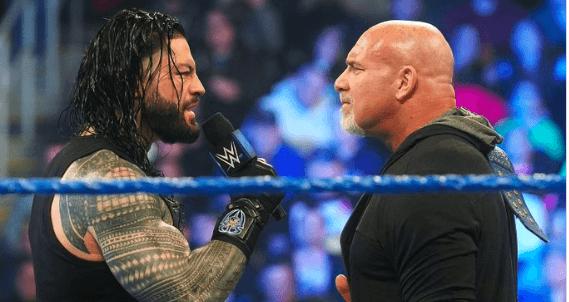 Roman Reigns-Goldberg