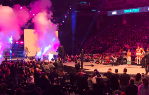 What happened before AEW: Revolution kicked off?