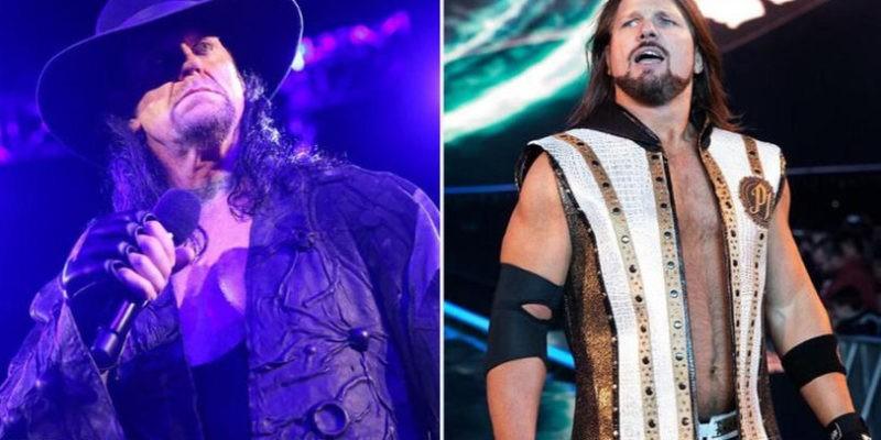 Undertaker vs AJ Styles