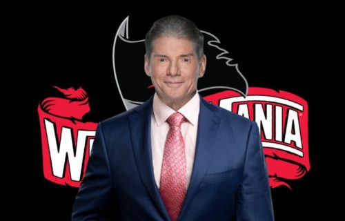 When did Vince McMahon pitch the idea for WrestleMania 36 in Performance Center?