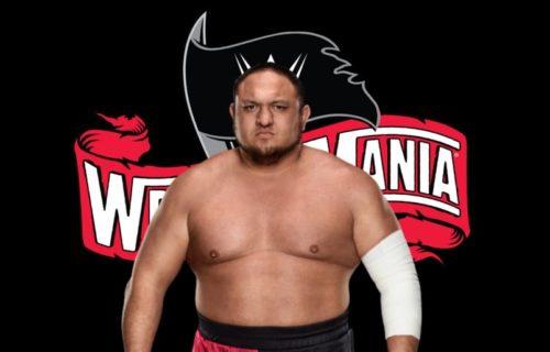 Samoa Joe could be a part of WrestleMania 36