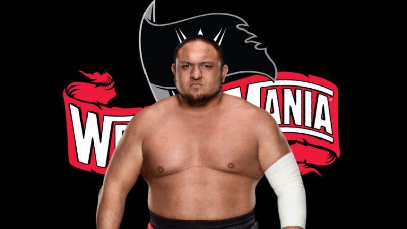 Samoa Joe-WrestleMania