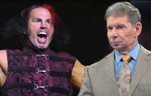Matt Hardy reveals details about meetings with Vince McMahon that led to his departure