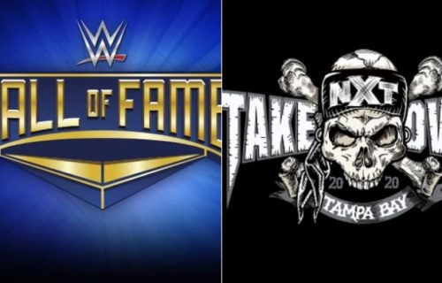 NXT TakeOver & WWE Hall Of Fame cancelled
