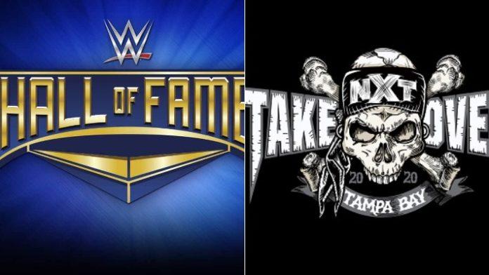 WWE HOF and NXT