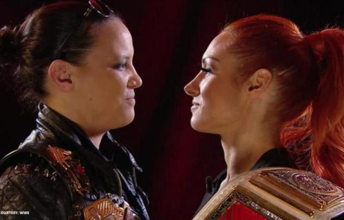 Becky Lynch claims she wasn't happy with her last match with Shayna Baszler