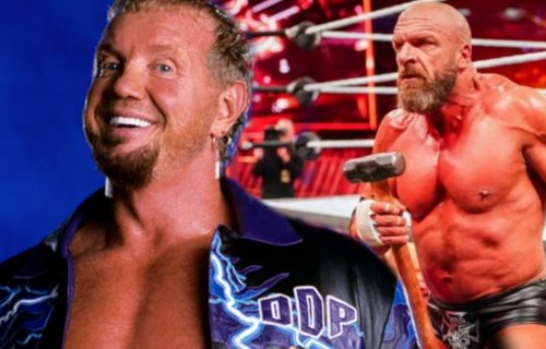 WWE wanted a newly signed Triple H to use DDP's Diamond Cutter