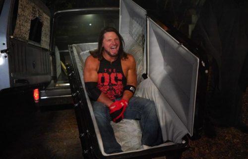 WWE selling special memorabilia from Boneyard Match