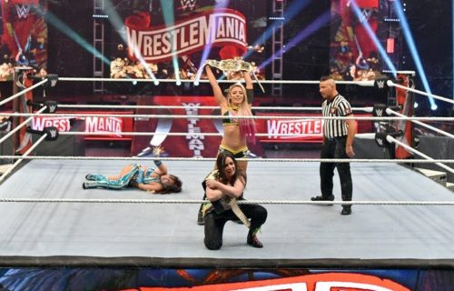 """Alexa Bliss on Ronda Rousey's """"fake fighting"""" comments"""