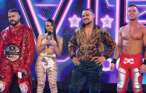 WWE's possible long-term plans for Andrade and Angel Garza; change of plans for Liv Morgan