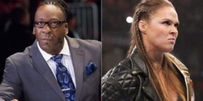 Booker T and Ronda Rousey
