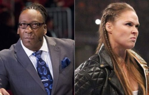 Booker T says Ronda Rousey's comments are a slap in the face of wrestlers that worked with her