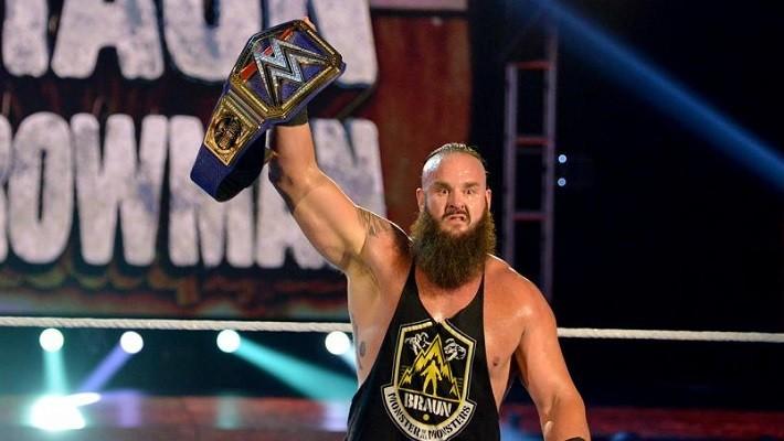 Braun Strowman as the Universal Champion