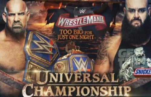 Roman Reigns officially replaced in WrestleMania match