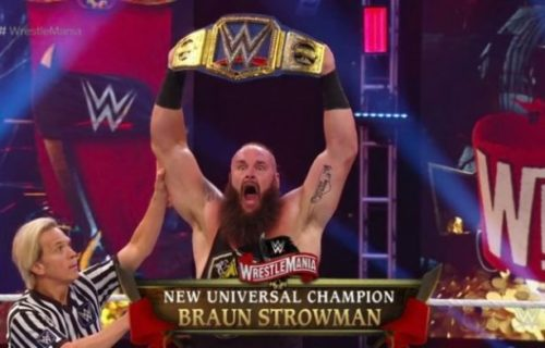Possible reason why Braun Strowman won Universal Title
