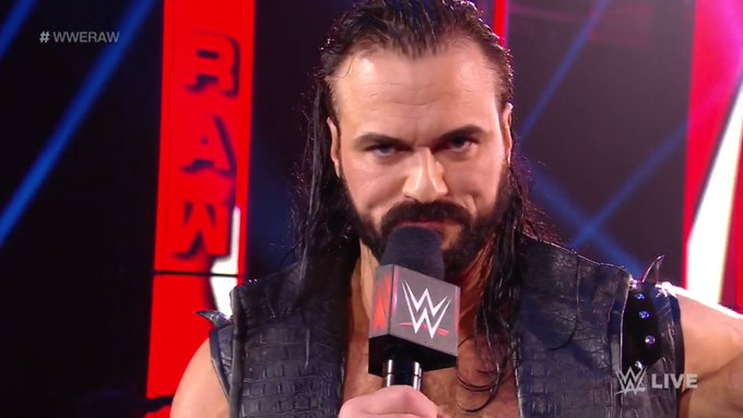 Drew McIntyre Monday Night RAW Money in the Bank Seth Rollins WWE Championship