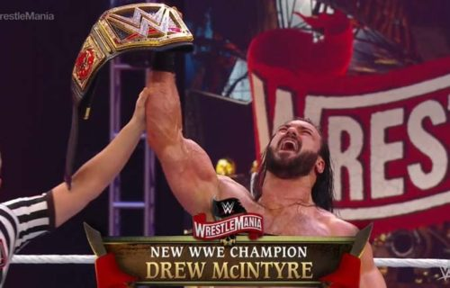 Drew McIntyre is the new WWE Champion
