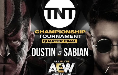 Dustin Rhodes to retire if he loses TNT Championship quarterfinal bout