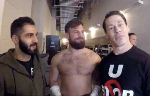Drew Gulak on John Cena's love of 205 Live, giving advice to other Superstars
