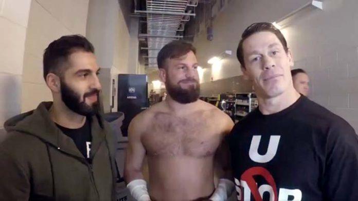 John Cena Drew Gulak Ariya Daivari