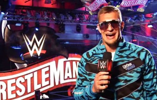 WWE responds to announcement of Rob Gronkowski's NFL return