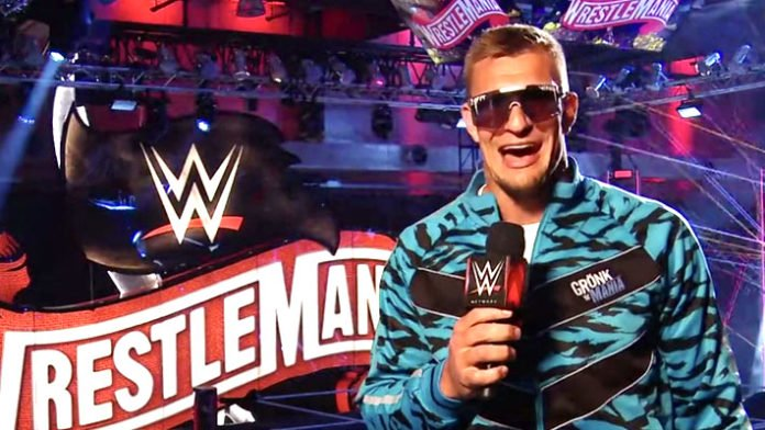 Rob Gronkowski no longer with WWE