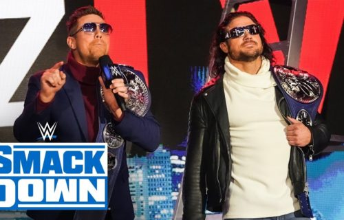 The Miz out of WrestleMania, SmackDown Tag Title match changed